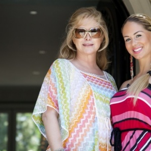 Jill Kussmacher trifft Kathy Hilton
