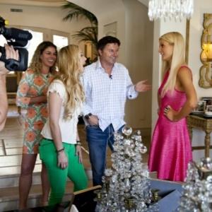 Jill Kussmacher & Familie Hilton